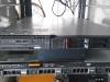 Detail serveru, horní IBM,spodní původní pronajatý HP
